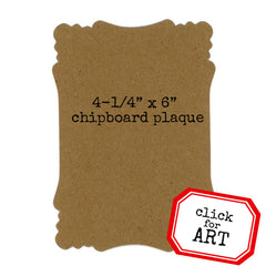 3 Chipboard Plaques