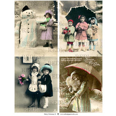 Christmas Collage Sheet 32