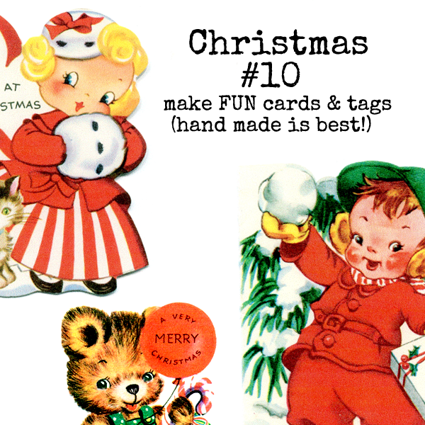 Christmas Collage Sheet 10