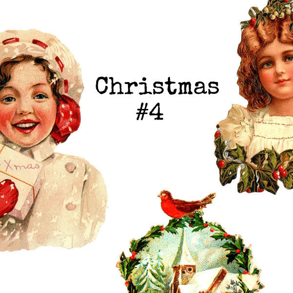 Christmas Collage Sheet 4