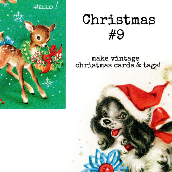Christmas Collage Sheet 9