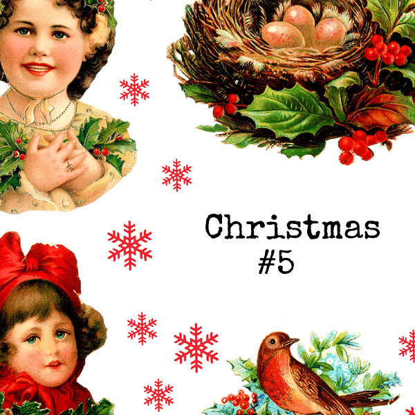 Christmas Collage Sheet 5