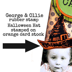 artist trading card Halloween Hat