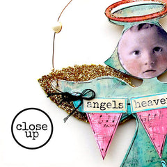 Christmas Collage Sheet 93 - Anna Angel Ornaments