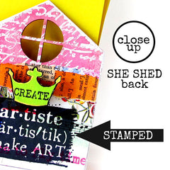 NEW! Art House She Shed