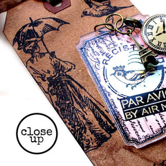 close up paris Tag