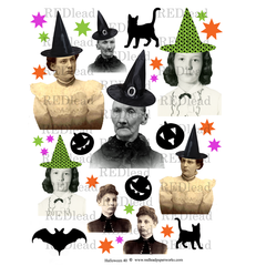 Halloween Collage Sheet 40