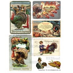 Thanksgiving Collage Sheet 3