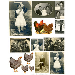 Ancestors Collage Sheet 3