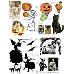 Halloween Collage Sheet 38