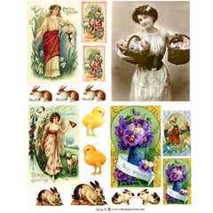 Spring 28 Collage Sheet
