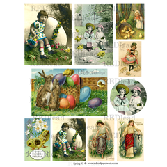 Collage Sheet - Spring 33