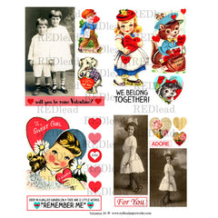 Valentine 59 Collage Sheet