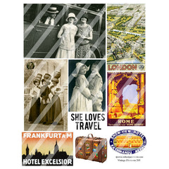 travel collage sheets