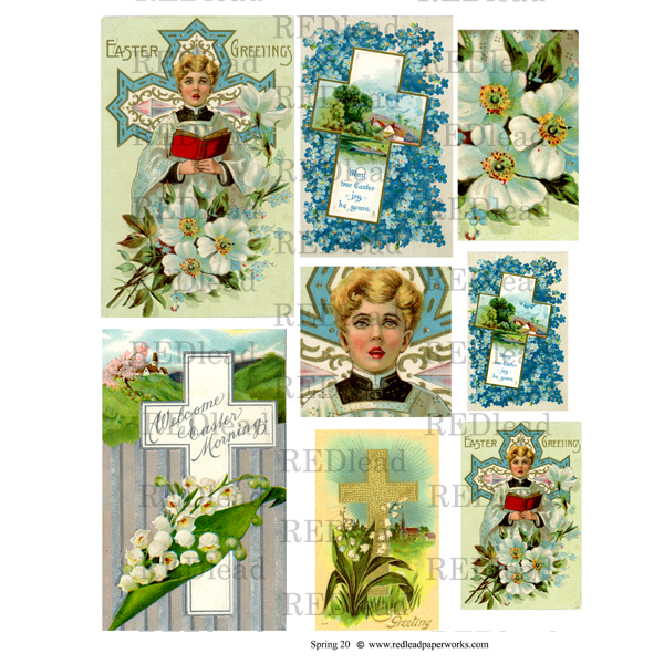 Spring 20 Collage Sheet