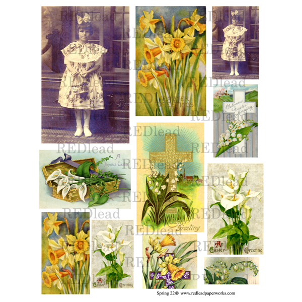 Spring 22 Collage Sheet