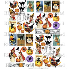 A Halloween Collage Sheet 11