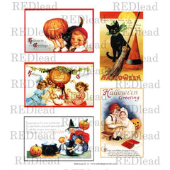 Halloween Collage Sheet 21