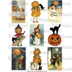 Halloween Collage Sheet 6