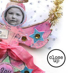 Christmas Collage Sheet 92 - Alice Angel Ornaments