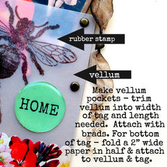 make vellum tags