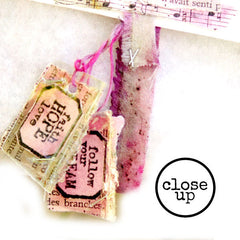 Little Labels Rubber Stamp Celebrate Today