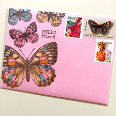 Rubber Stamped Mail Art