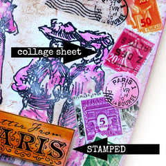A Brand New Paris Collage Sheet 2
