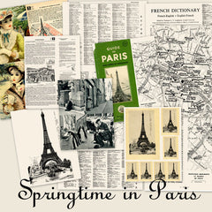 Paper Pack Springtime in Paris
