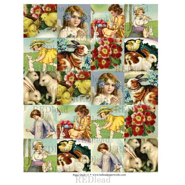 Collage Sheet Patchwork Quilt 11