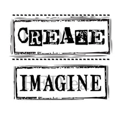 Create Imagine Rubber Stamps