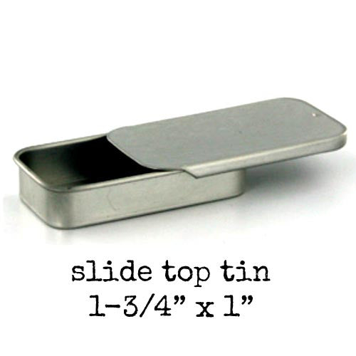 Metal Slide Box - Small