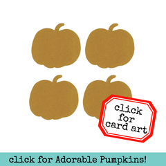 Small Chipboard Pumpkins - 4