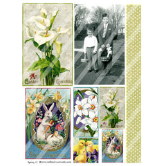 Spring 43 Collage Sheet
