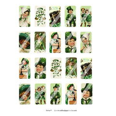 New! Spring Domino Collage Sheet 47