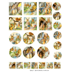 New! Spring 51 Collage Sheet