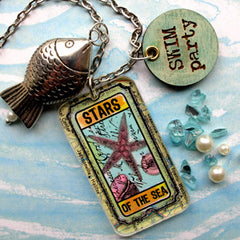 Tickets Rubber Stamp - Stars of the Sea
