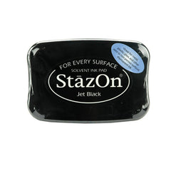 stazon jet black ink pad
