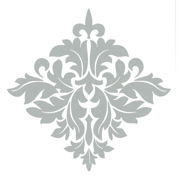 "6"" x 6"" Art Stencil Brocade Save 25%"
