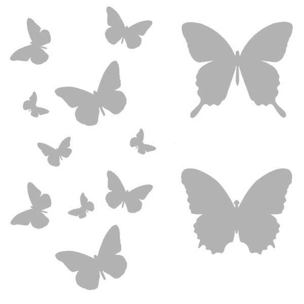 "Butterfly Flight 6"" x 6"" Art Stencil"