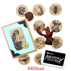 Petite Nature Study Rubber Stamp