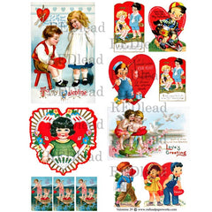 Valentine Collage Sheet 29