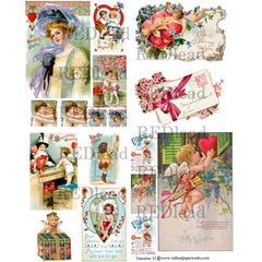 Valentine Collage Sheet 32