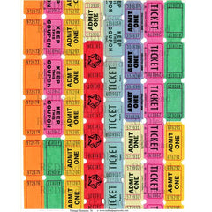 Vintage Elements 76 Collage Sheet Tickets