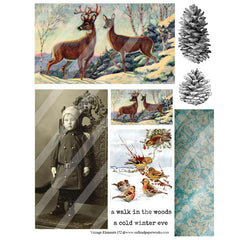 Vintage Elements 172 Collage Sheet