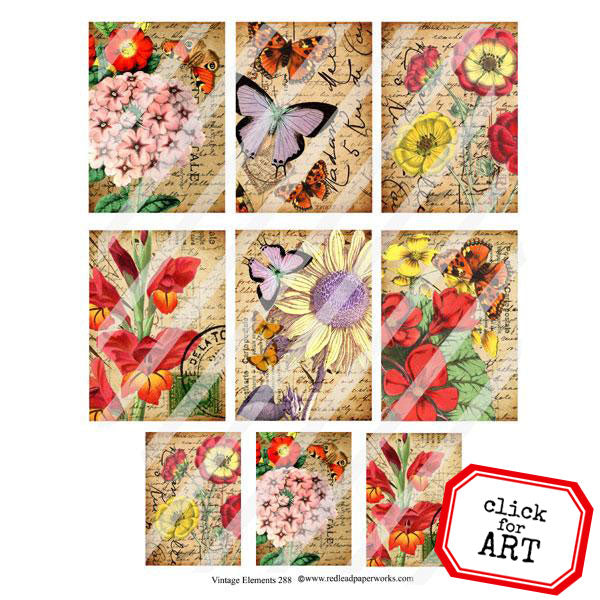 Vintage Elements 288 Collage Sheet