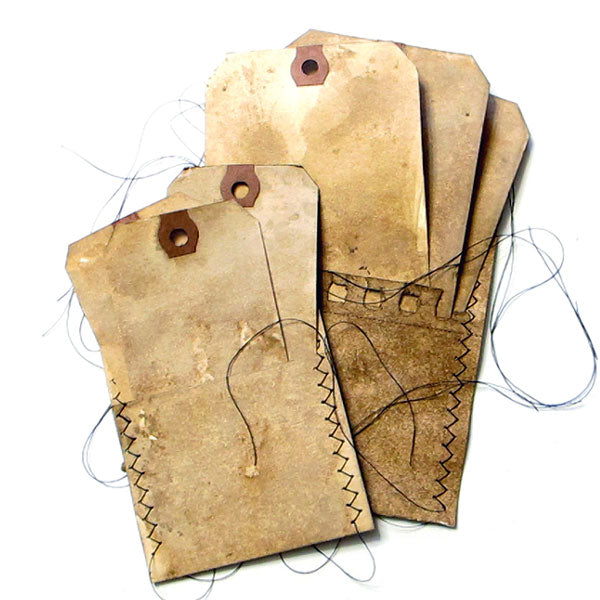 Walnut Ink Pockets and Tags