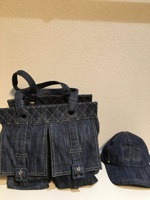 Chanel Denim Hat