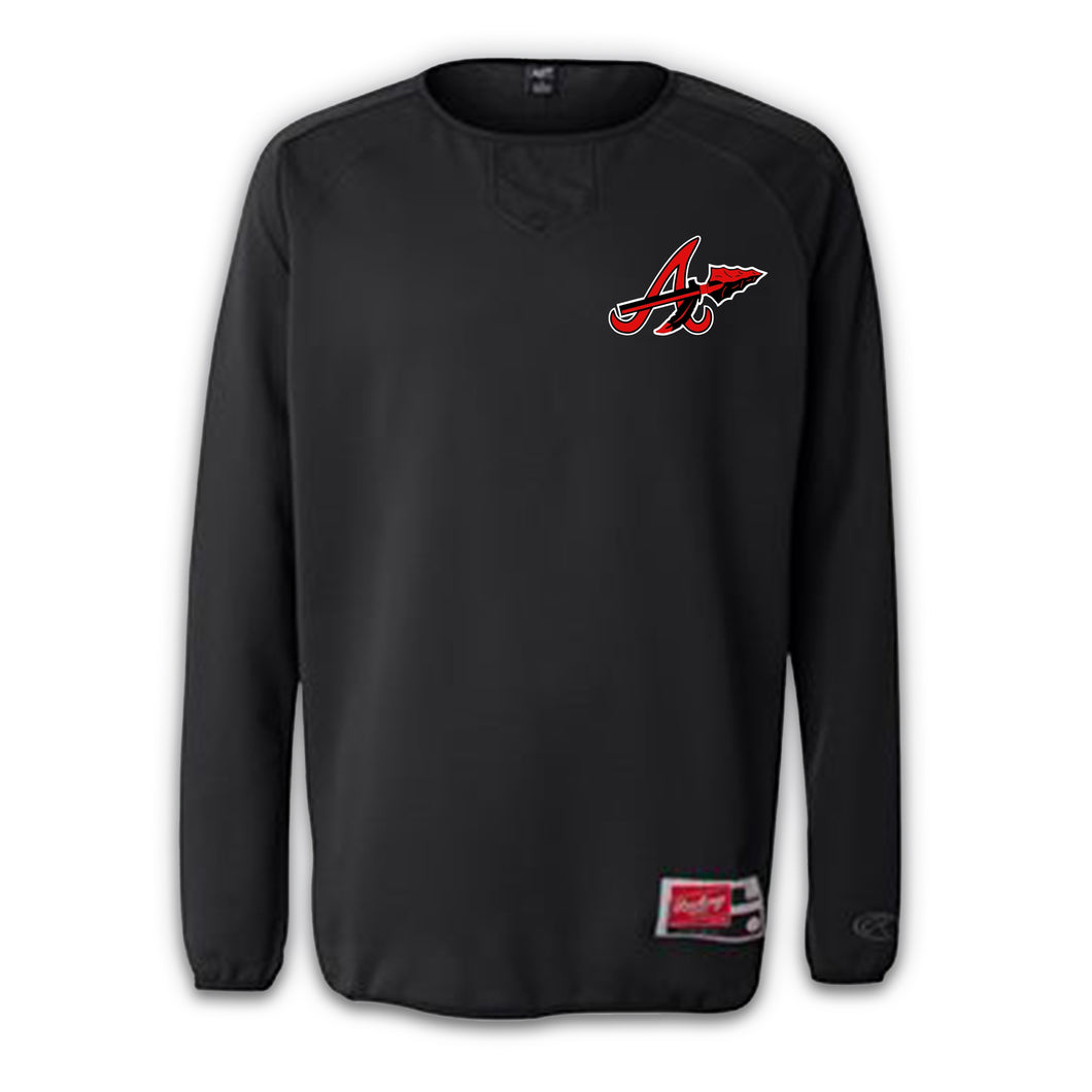 Arrows Baseball 2021 Rawlings® Long Sleeve Fleece Pullover