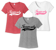 Load image into Gallery viewer, Tecumseh Spring 2021 Ladies V-Neck T-shirt